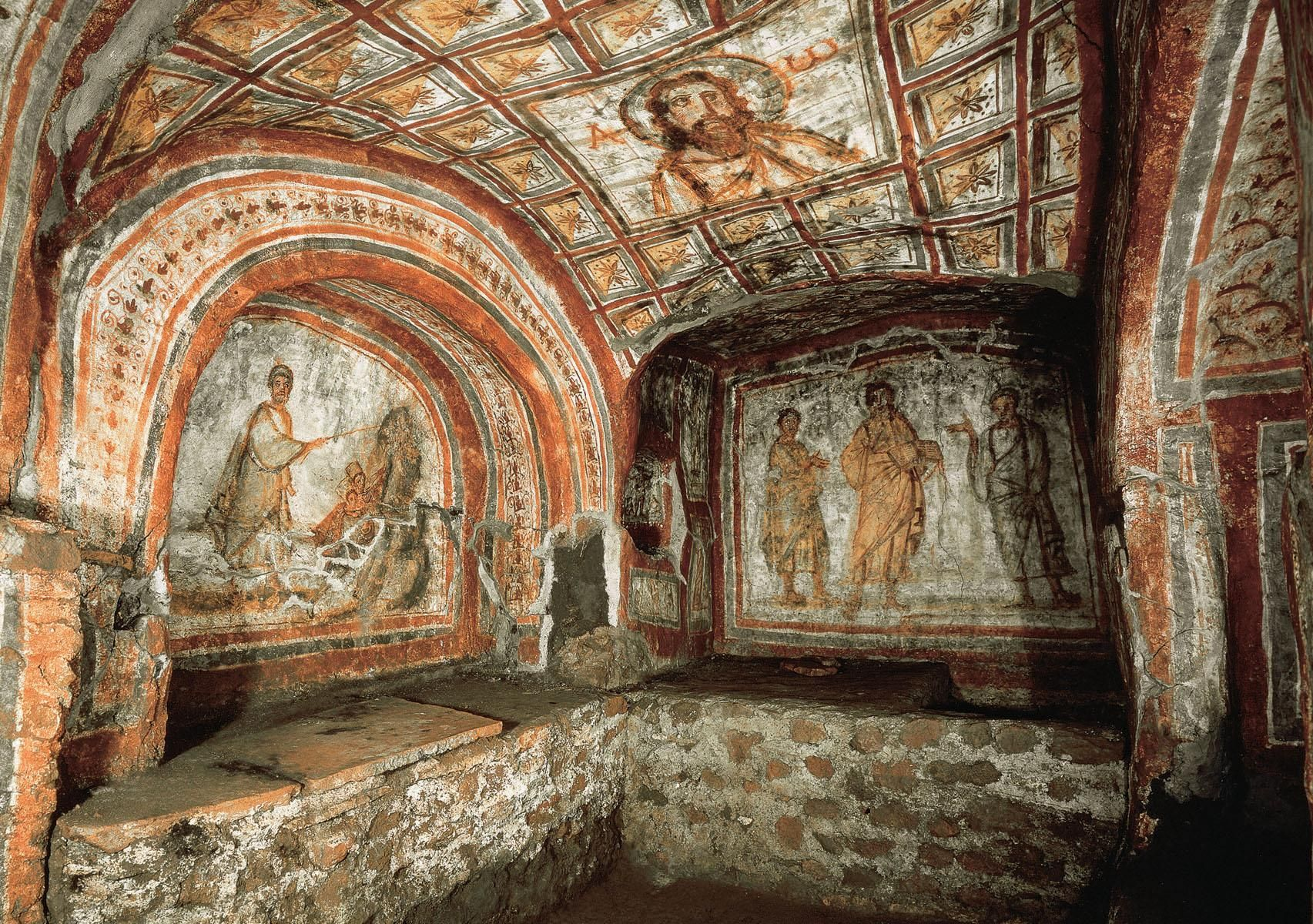 Catacombes de Saint Domitilla
